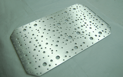 Cover plate silver plating